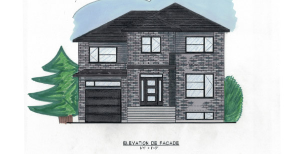 Le groupe lawlor nos plans for Maison moderne 2 etages