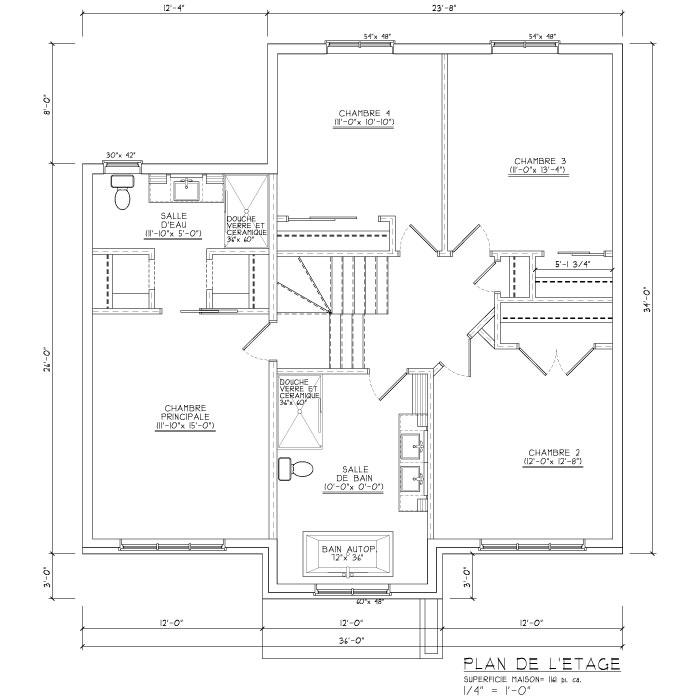 Maison De 2 étages Avec Un Style Particulièrement Moderne. Parfait Pour  Offrir Un Confort Parfait Répondant Aux Nombreux Besoins Des ...
