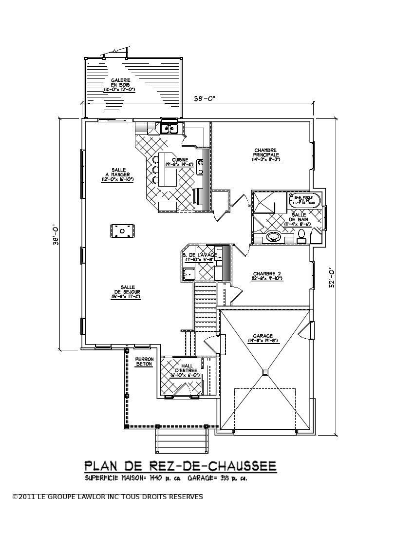 Plan maison sous sol complet soussol complet n2 maison 4 for Plan complet maison